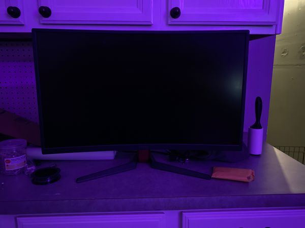 Curved 27in msi gaming monitor