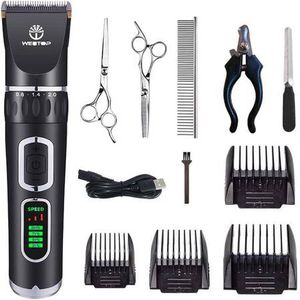 Dog Clippers 3-Speed Dog Grooming Clippers Kit USB Charge Dog Hair Clippers Low Noise Pet Clippers for Small Medium Large Dogs ,Cats and Other Pets for Sale in Los Angeles, CA