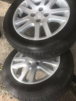 195/60R15 rims and tires for Sale in Burnsville, MN