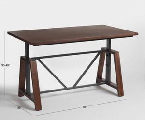 Adjustable Wood Table for Sale in Houston, TX