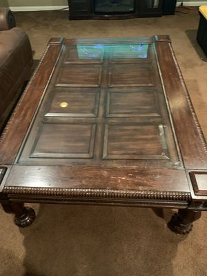 FREE - Real wood coffee table for Sale in Somerset, NJ