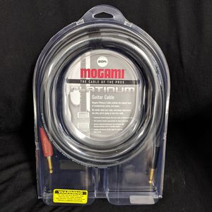 Mogami 20 Foot Platinum Guitar Cable for Sale in San Diego, CA