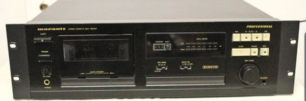 PMD501 Professional Cassette Stereo [SELLING 5 Boxes]