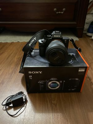 Sony - Alpha a7 II Full-Frame Mirrorless Camera with 28-70mm Lens - Black for Sale in San Diego, CA