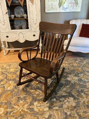 Antique Solid Wood Rocker for Sale in Vancouver, WA