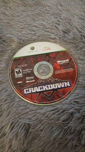 Crackdown; Xbox 360 Game for Sale in Sterling, VA