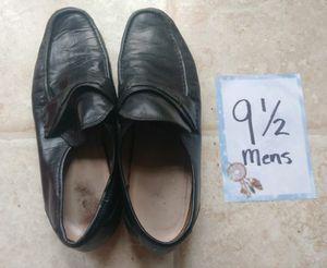 Men's Black Dress Shoes Size 9.5 for Sale in Mountlake Terrace, WA