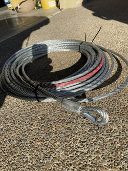 3/8 In. X 65 Ft. Steel Winch Cable for Sale in Camas,  WA
