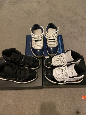 3 jordan 11's size 8 with box $600 for all for Sale in Antioch, CA