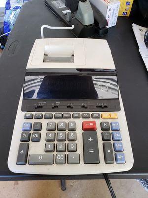 SHARP EL-2360P III Two Color Printing Calculator for Sale in Los Angeles, CA