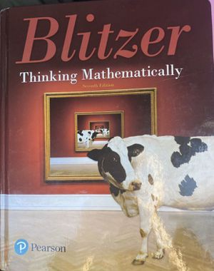 Blitzer thinking mathematically for Sale in Miami, FL