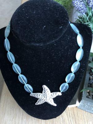 Starfish and sea glass necklace for Sale in Wenatchee, WA