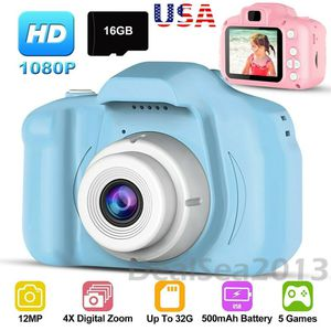 "1080P Digital Camera 2.0"" LCD HD Mini Camera With 16G TF Card for Kids Children Present Gift for Sale in Henderson, NV"