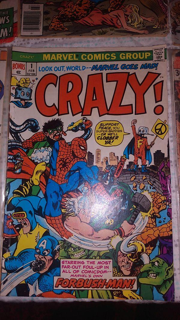 1972-78 Marvel Comic lot of 8