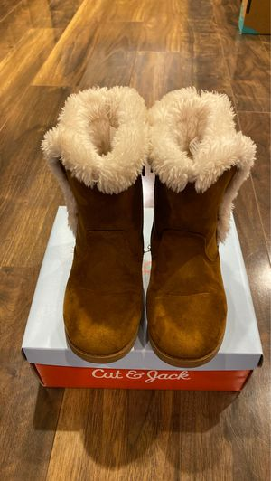 Girl Cat & Jack boots size 12 for Sale in San Jose, CA