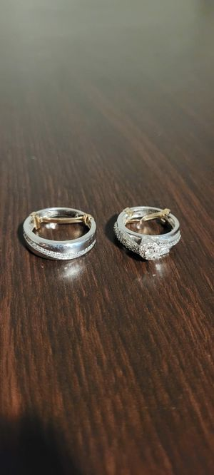 Beautiful Wedding Trio Ring Set for Sale in Chula Vista, CA