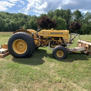 1967 International Harvester 2424 Lo-Boy Tractor w/ Finish Mower and Snow Plow for Sale in Cowansville, PA
