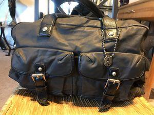 John Varvatos Genuine Leather Weekender Bag for Sale in San Diego, CA