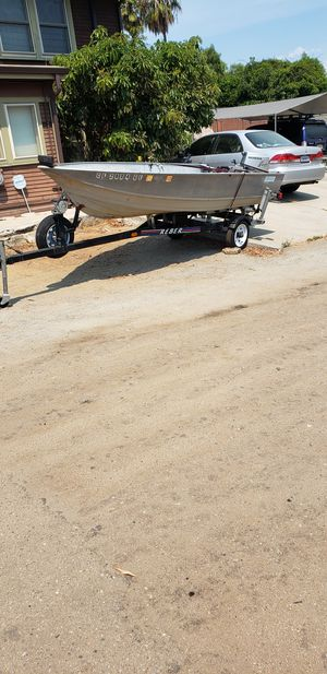 Gregor aluminum boat/skiff for Sale in San Diego, CA