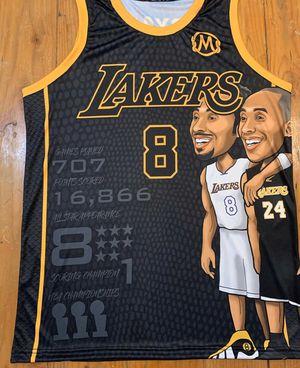 Kobe Bryant jersey custom brand new Nike adidas Lakers yeezy for Sale in Fresno, CA