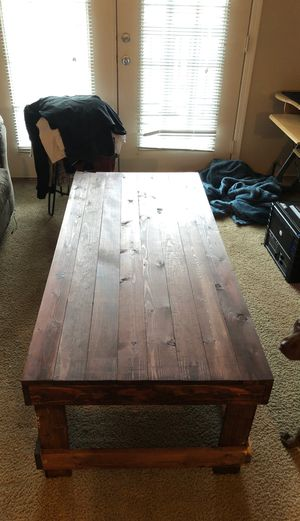 Hand Built Coffee Table! for Sale in Cary, NC