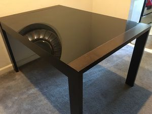 Modern dining table - Extendable with leaf for Sale in Los Altos, CA