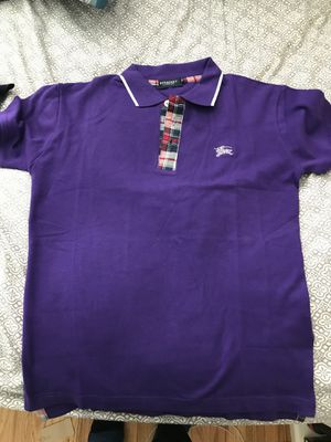Size med brand new Burberry and fendi shirt for Sale in Baltimore, MD