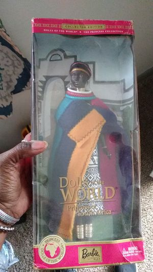 Collectors Edition African Princess Barbie for Sale in Columbus, OH