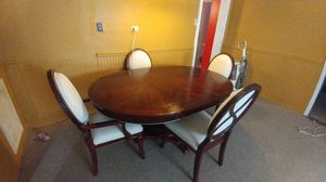 Dining room table and chairs for Sale in Shepherd, MI