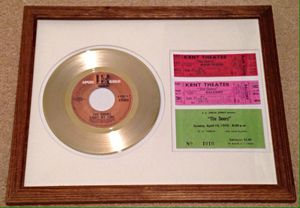 The Doors Framed Gold Record and Concert Tickets for Sale in Arlington, VA