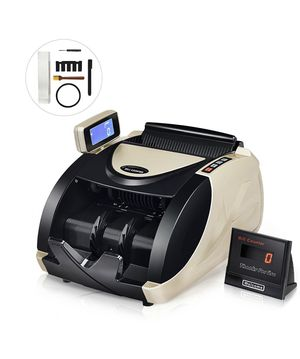 Currency Counter Money Cash Countting Machine Counterfeit Bill Detector UV MG for Sale in Moreno Valley, CA