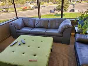 Leather sofa and lounge chair for Sale in Orange, CA