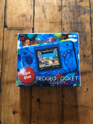 Neo Geo pocket aqua blue never used for Sale in Queens, NY