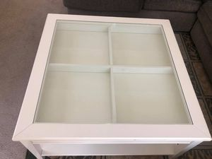 Coffee and Sofa Table both with Glass Tops for Sale in Kent, WA
