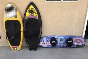 Water Toys - 2 Kneeboards and 1 Wakeboard for Sale in Covina, CA