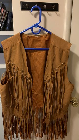 Fringe Vest Faux Suede for Sale in Los Angeles, CA