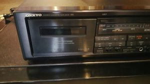 ONKYO DOUBLE STEREO CASSETTE for Sale in St. Louis, MO