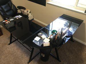 Glass desk for Sale in Dinuba, CA
