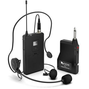 FIFINE K037B WIRELESS SYSTEM WITH LAPEL MIC AND HEADSET FOR SPEAKER, CAMERA, ANDROID A for Sale in Visalia, CA