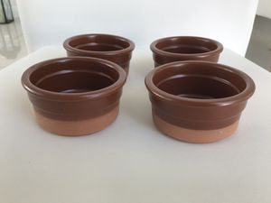 """Bakeware/pots set of 4 - 3.5"""" x 2"""" for Sale in Miami, FL"""