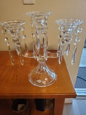 Shannon crystal of Ireland 3 arm Candelabra for Sale in Deltona, FL