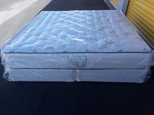 Brand new king size set mattress included box spring free delivery for Sale in Chandler, AZ
