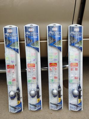 Ready fish fishing rods by Zebco for Sale in Ravenna, OH