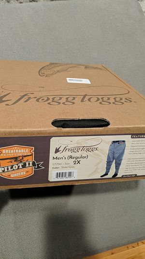 Froggy Togg Pilot 2 Stockingfoot Breathable Guide Pant -2XL for Sale in San Diego, CA