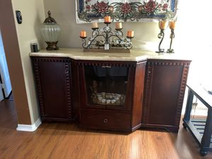 Dresser with marble top for Sale in Houston, TX