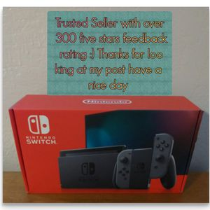 Nintendo Switch - Brand New in the Box - Gray Edition -Version 2 for Sale in Chula Vista, CA