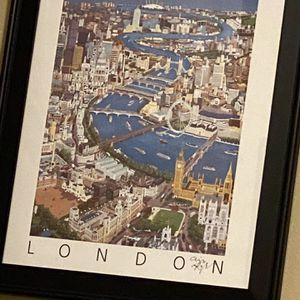London Framed Poster for Sale in Seattle, WA