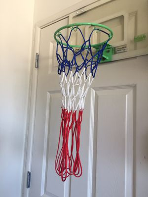 Basketball hoop with super long net for Sale in San Mateo, CA