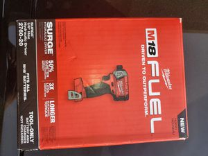 Milwaukee Fuel Surge Impact Driver (TOOL ONLY) NO BATTERY NO CHARGER for Sale in Fresno, CA
