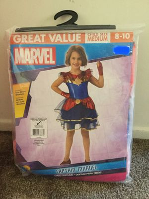 Child's Captain Marvel Costume for Sale in Los Angeles, CA